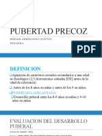 PUBERTAD PRECOZ PPT