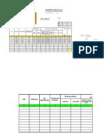 Tabla Diseño Area Requerida Formato