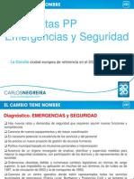 Propuestas Pp Emergencias y Seguridad