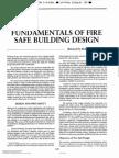NFPA - Fundamentals of fire safe building design