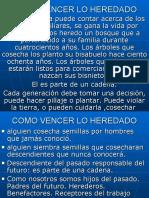 COMO VENCER LO HEREDADO