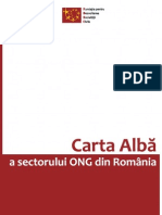 Carta Alba a Sectorului ONG