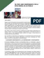 Material de consulta - Concurso sobre la Independencia el Perú 2021