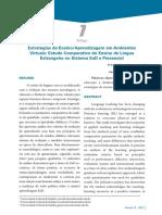 2013 Estratégias de Ensino Aprendizagem em Ambientes Virtuais