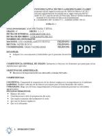 GUIA INTEGRADA AGROPECUARIA Y ETICA GRADO 4