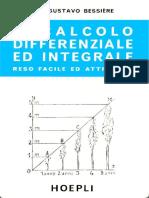 Bessière G. - Il Calcolo Differenziale Ed Integrale - 1930