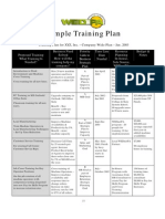 Training-Plan-Template