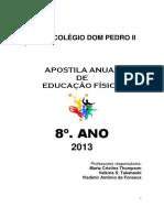 8º. ANO APOSTILA ANUAL DE EDUCAÇÃO FÍSICA COLÉGIO DOM PEDRO II