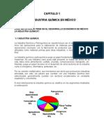 capitulo I La industria quimica en Mexico