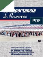 LA IMPORTANCIA DE REUNIRNOS