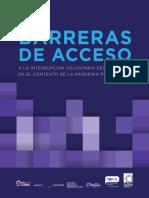 Barreras de acceso a la interrupción voluntaria del embarazo en el contexto de la pandemia por covid-19