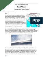 Chinook and Bora Winds