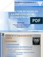 CLASE DE ERGONOMIA PARA CURSO SAT- FAV