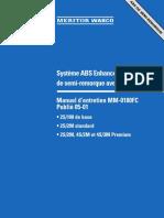 Systeme ABS Enhanced Easy-Stop™ de semi-remorque avec PLC