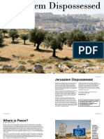 Jerusalem Dispossessed Booklet