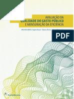 Tesouro Nacional - Avaliação Da Qualidade Do Gasto - eBook