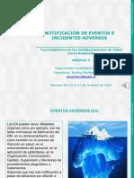 4 Notificación de Eventos e Incidentes adversos con Dispositivos Medicos audio