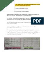 001 - Nuestro sistema de escritura