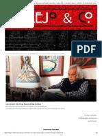 Arturo Corcuera_ Poeta & Mago. Recuerdo de Roger Santiváñez - Vallejo & Co. _ Revista Cultural - POESÍA - FOTOGRAFÍA - NARRATIVA - CINE - MÚSICA - TEATRO - ARTES - PLÁSTICAS - CREACIÓN - CAJÓN DE SASTRE