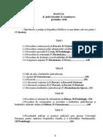 Manual al judecatorului