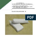 PHF-89 Plastic Explosive