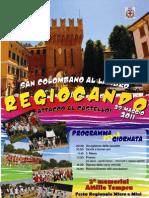 locandina REGIOCANDO 2011