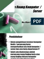 Design Ruang Komputer Server