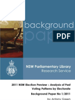 2011 NSW Election Preview