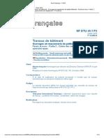 DTU 20.1 P2 Travaux de batiment Ouvrages en maçonnerie de petis éléments CCAS - juillet 2020