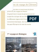 Le carnet de voyage de Clément