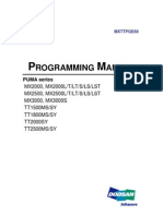 CNC Turning Center Programming Manual