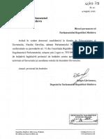 Решение Об утверждении рабочей программы и предоставлении вотума доверия Правительству