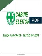 Cabine eleitoral da CIPATR