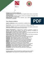 LOS ADJETIVOS   NOVENO P3