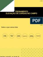 Apresentação - Elevação de Cargas No Campo Ilustrado - HEPI