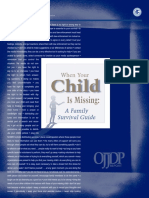 "EASTERN Curriculum - Resources - ""When Your Child is Missing"" When Your Child is Missing"