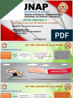 Impuesto a La Renta,(Concepto) y Teorias de La Renta.willlian Braddoc Humpire Supo