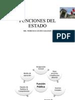 FUNCIONES DEL ESTADO I
