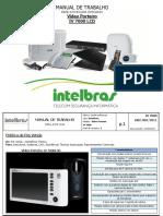 Manual de Trabalho Video Porteiro IV 7000lcd