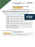 ALERTA NARANJA-HIDROLOGICA-04-10-2019