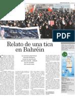 Relato de una tica en Bahréin. La República