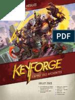Keyforge Rulebook Amf Juillet 2020