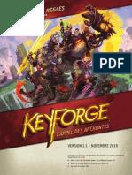 Keyforge Upgrade-rulebook Amf