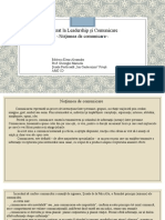 Noţiunea de comunicare- Badescu Alexandra