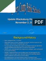 SB BHS Update Power Point) November 2 2010 (2)