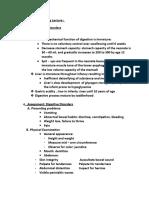 Pedia 3 Digestive- Endocrine Disorders
