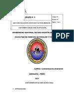 TRABAJO DE GRUPO N 9 CONTAMINACION DE AIRE OCUPACIONAL