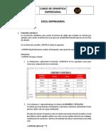 OFIMÁTICA EMPRESARIAL - EXCEL SESIÓN 2