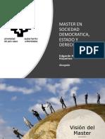 Defensa TFM  Master UPV/EHU