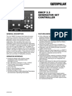 Manual Panel de control C15